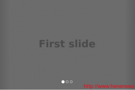 Bootstrap 轮播图banner代码插件