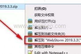 WebStrom 2019软件绿色破解下载及详细安装教程