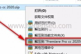Premiere Pro cc 2020绿色免费版下载及详细安装教程