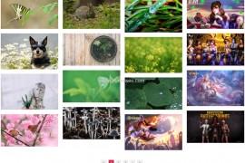 Z-blog主题:照片摄影主题免费网站模板