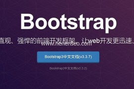 Bootstrap教程:代码显示