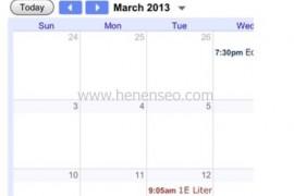 如何写一个HTML响应式日历