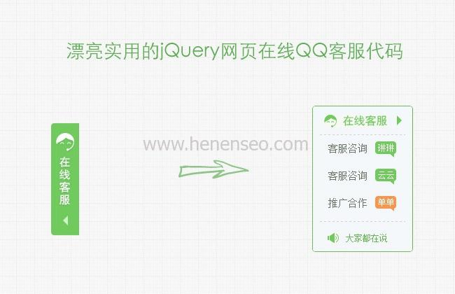 qq客服代码